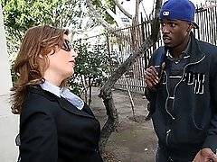 interracial mom fucking movies - Redhot Cougar MILF Fucks Young Black Eats His Cumxxx