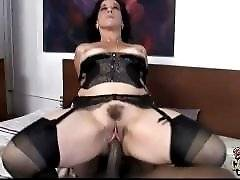 interracial mom fucking movies - Back again this week with another double interracial creampie session!  After last week's double afro-cream injection, I was sure I finally hit t