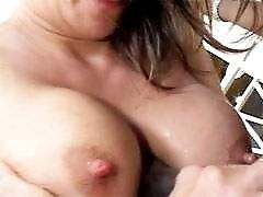 interracial mom fucking movies - Hot And Sexy Mommy Sunny Day Receives Deep Blowjob And Rides On Stiff Cock