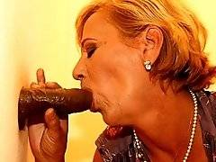 interracial mom fucking movies - Mama needs a big black cock to eat and ride