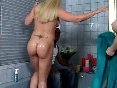 interracial mom fucking movies - Naked and sexy whores are sucking black dick