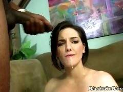 interracial mom fucking movies - We're giving you the gift that keeps on giving: A girl who's never, E-V-E-R had black cock in her life. Tegan Mohr