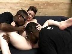 interracial mom fucking movies - That heartbeat you're hearing is coming from Emma Snow and her Dogfart debut