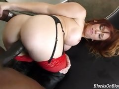 "interracial mom fucking movies - She`s petite, she`s a redhead, and she`s the latest in a long line of porn stars to come over to ""The Dark Side""."